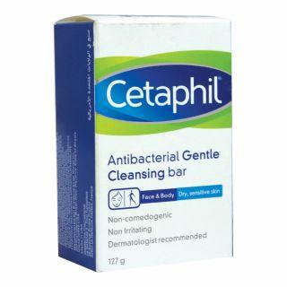 Cetaphil Antibacterial Gentle Cleansing Bar 127g