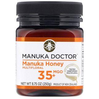 Manuka Doctor, Multi-Nectar Manuka Honey, Methylglyoxal 35+, 8.75 oz (250 g)
