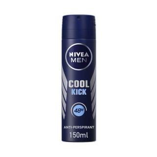 Nivea Men Cool Kick Antiperspirant Body Spray - 150ml