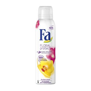 Fa Floral Protect Orchid & Viola Antiperspirant Spray - 150ml