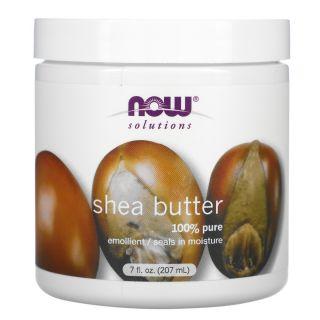 Now Foods Shea Butter, 207 ml