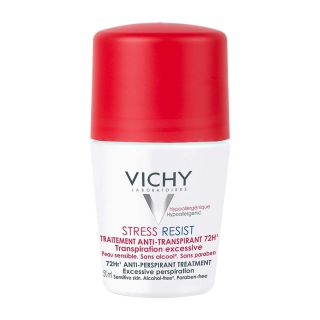 Vichy Stress Resist Antiperspirant Treatment 72 Hour Roll-On 50 ml