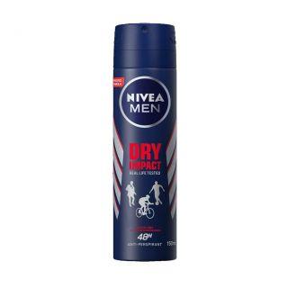 Nivea Men Dry Impact Spray - 150ml