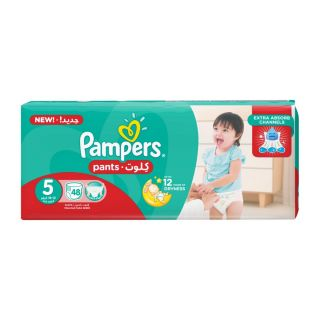 Pampers Pants Size (5) 12-18kg Junior - 52 Count