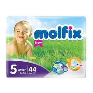 Molfix Perfect Fit Size (5) Junior 11-25kg - 44pcs