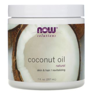 Now Foods, Solutions, Coconut Oil, 7 fl oz (207 ml)