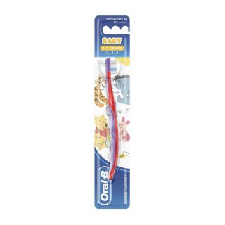 Oral-B Baby 0-2 Years Toothbrush Winnie The Pooh - XS Extra Soft