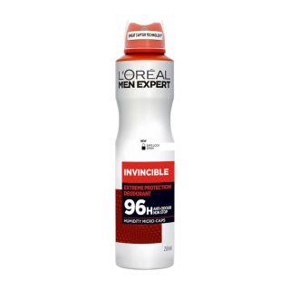 L'Oreal Men Expert Invincible 96H Deodorant Spray - 250ml