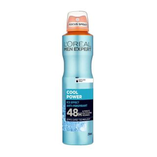 L'Oreal Cool Power Ice Effect Anti-Perspirant 48H Spray - 250ml