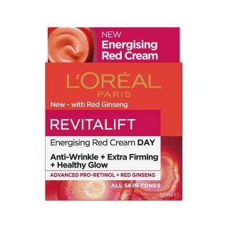 L'Oreal Revitalift Energising Red Cream Day - 50ml
