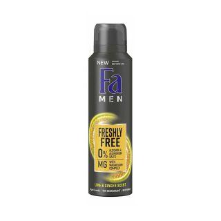 Fa Men Freshly Free Lime & Ginger 48H Deo Body Spray - 150ml