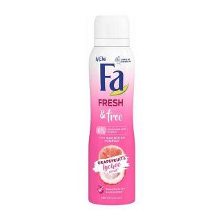 Fa Men Freshly Free Grapefruit & Lychee Scent 48H Deo Spray - 150ml