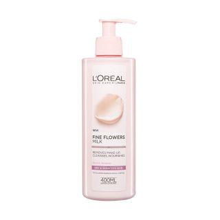 L'Oreal Fine Flowers Cleansing Milk – 400ml