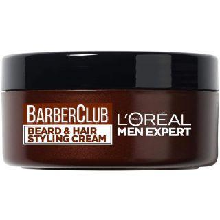 L'Oreal Men Expert Barber Club Beard and Hair Styling Cream, 75 ml