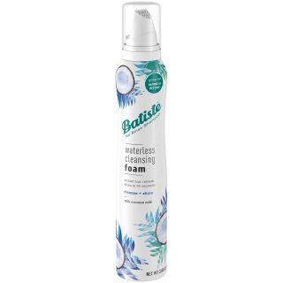 Batiste Waterless Cleansing Foam Cleanse + Shine with Coconut Milk, 3.6 OZ