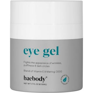 Baebody Eye Gel for Appearance of Dark Circles, Puffiness, Wrinkles and Bags. - for Under and Around Eyes - 1.7 fl oz.