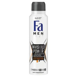 Fa Men Freshly Free Invisible Power Clean 72H Spray 150ml