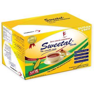 Sweetal diet sugar 100 stick