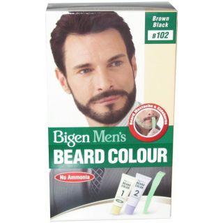 Bigen Men's Beard Colour , B102 Brown Black , No Ammonia