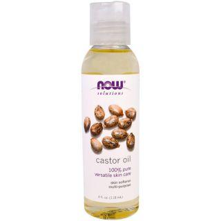 Now Castor Oil 4 oz. 100% Pure