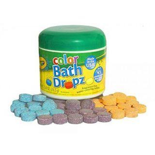 Crayola Color Bath Dropz 2.68 oz 45 Tablets