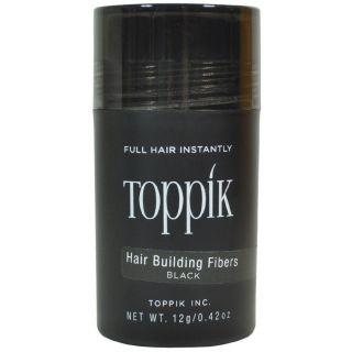 TOPPIK Hair Building Fibers - 12gm BLACK