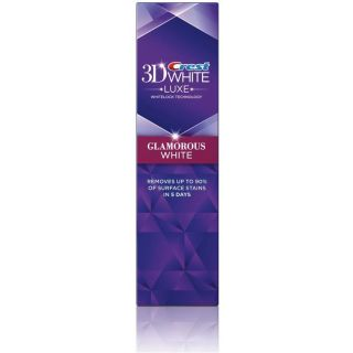 Crest 3D White Professional effect & Crest 3D White Luxe Glamorous White Toothpaste & 3D Mouthwash