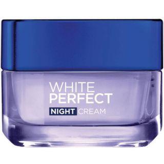 L'Oreal Paris Skin Care White Perfect Soothing Cream Night, 50 ML