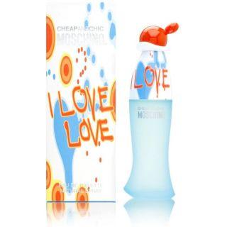 Moschino I Love Love by Moschino for Women - Eau de Toilette, 100ml