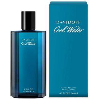 Davidoff Perfume - Cool Water by Davidoff - perfume for men - Eau de Toilette, 200ml