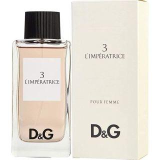Dolce and Gabbana 3 L'Imperatrice Eau de Toilette for Women, 100 ml