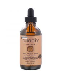 Pura D'or, Professional, 20% Vitamin C Serum, 4 fl oz (118 ml)