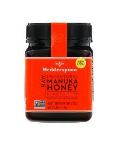 Wedderspoon, Raw Manuka Honey Mono-nectar, KFactor 16, 2.2, 1 lb (1 kg)
