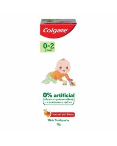 Colgate Natural Fruit Toothpaste for Kids (0-2 years) 70g