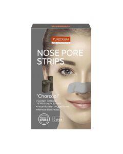 Purederm Nose Pore Strips Charcoal - 6pcs