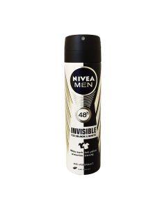 Nivea Men Invisible Black & White Body Spray - 150ml