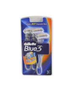 Gillette Blue 3 - 3 Disposable Razors