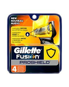 Gillette Fusion Proshield Men's Razor Blades - 4 Blades