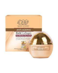 Eva Gold Collagen Anti Wrinkle Day Cream - 50ml
