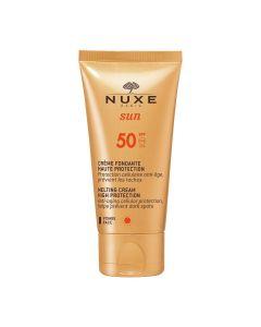 Nuxe Sun Melting Cream For Face High Protection SPF50 - 50ml