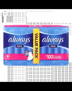 Always Maxi Long - 18Pcs
