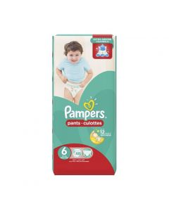 Pampers Pants Size (6) 16+kg Extra Large - 48 Count