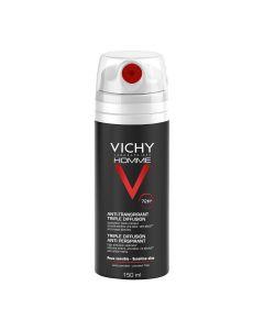 Vichy Homme Triple Diffusion Anti-Perspirant 72HR  - 150ml
