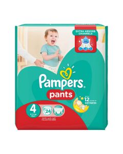 Pampers Pants Size (4) 9-14kg Maxi - 28 Count