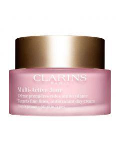 Clarins Multi Active Jour Day Cream All Skin Types - 50ml