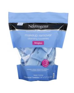 Neutrogena, Makeup Remover Wet Wipes, Separate Wipes, 20 Pre-Moistened Wipes