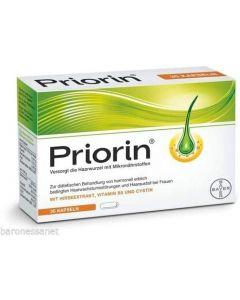 Bayer Priorin Intense180 capsule hair loss genuine