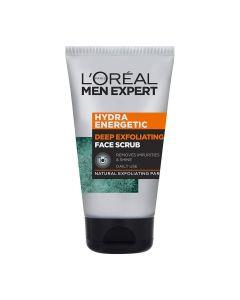 L'Oreal Men Expert Hydra Energetic Deep Exfoliating face scrub - 100ml