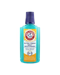 Arm and Hammer 3 In 1 Extra Fresh Daily Mouthwash - 400ml