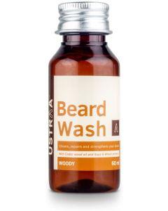 Ustraa Woody Beard Wash For Men, 60 ml